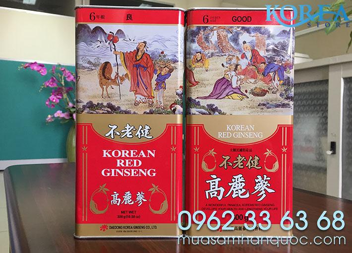 Hong Sam Kho Han Quoc DaeDong 300g