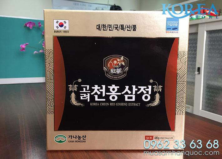 Cao Hong Sam Han Quoc KanaNongsan Hop 2 Lo