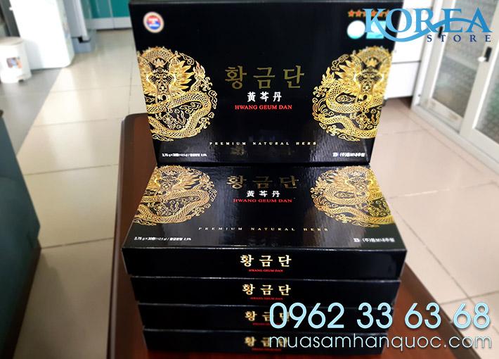 Hoat Huyet Duong Nao Han Quoc - Luu Thong Mau