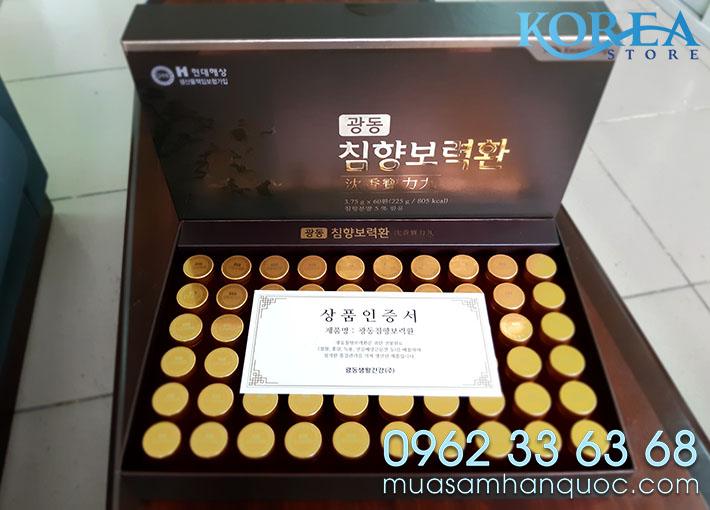 Hoat Huyet Duong Nao Han Quoc - Tram Huong Bo Luc Hoan Kwangdong 01
