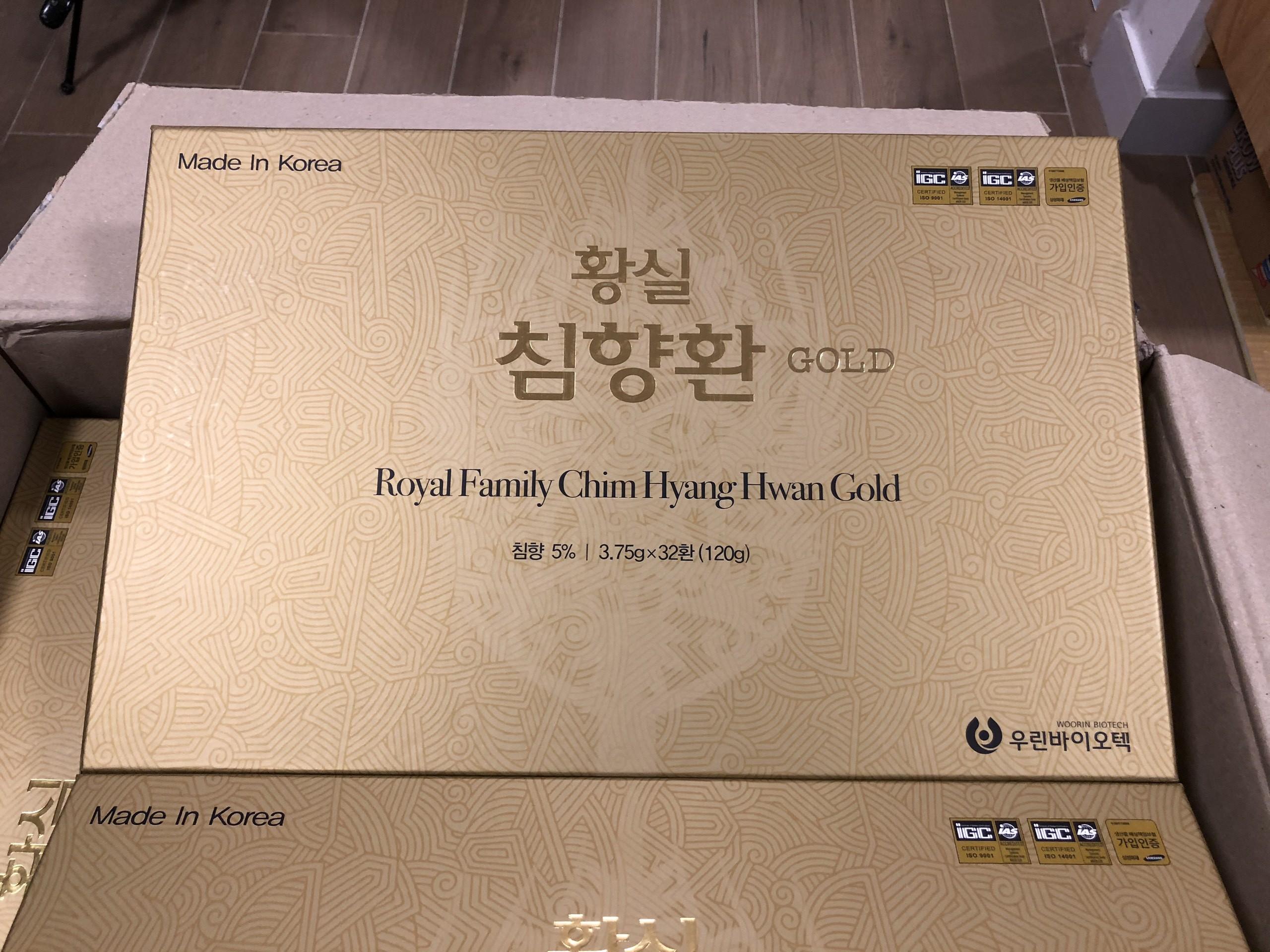 Hoat Huyet Duong Nao Han Quoc Tram Huong Hoan - Royal Familyy Chim Hyang Hwan 01